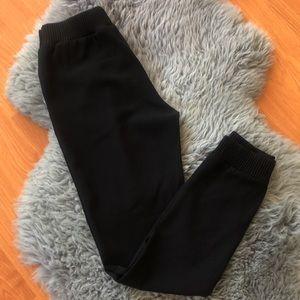 Babaton Elastic Waist Dress Pants